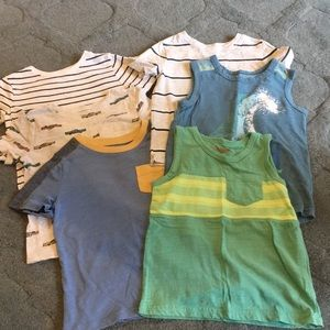Lot of boys 4T shirts